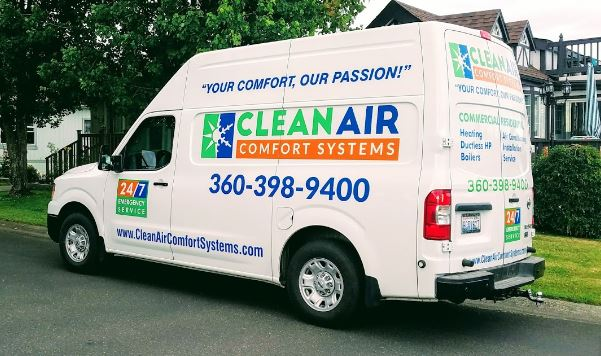 Clean Air Comfort Systems Van