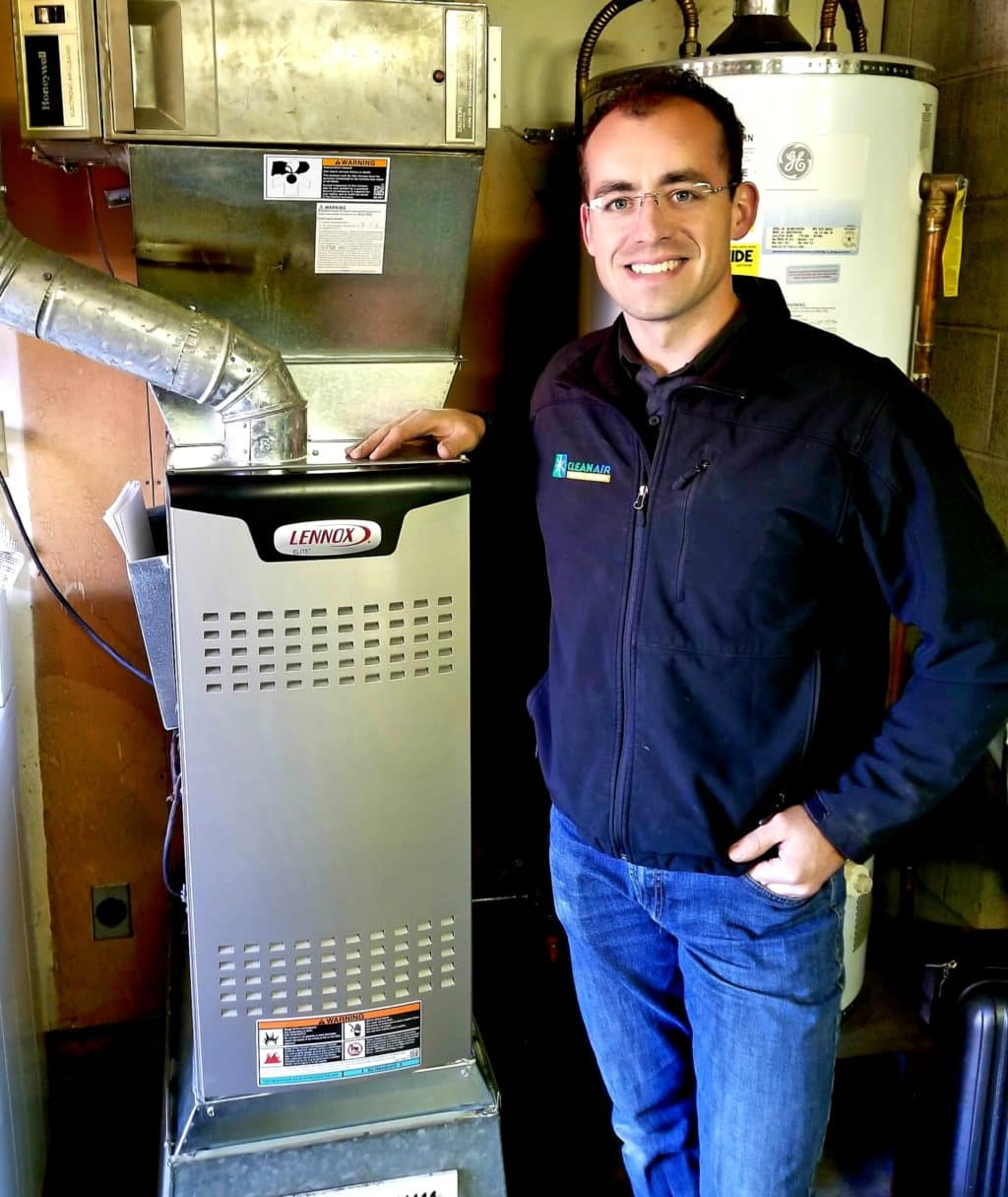 Contact Clean Air Comfort Systems: furnace installation bellingham wa