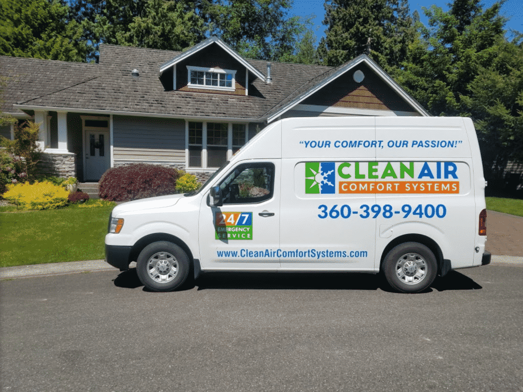 clean air comfort systems truck