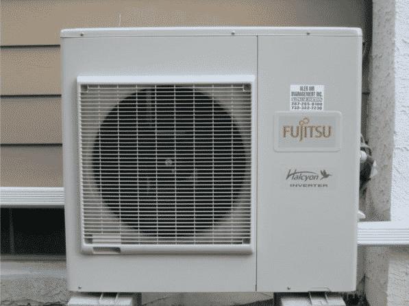 fujitsu ductless heat pump